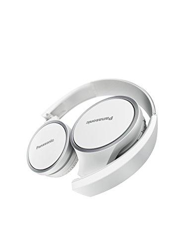 Panasonic RP-HF400BE-W Bluetooth On-Ear Kopfhörer (On-Ear, bis 20 h Akkulaufzeit, Quick Charge, Mikrofon, Sprachsteuerung, weiß) - 3