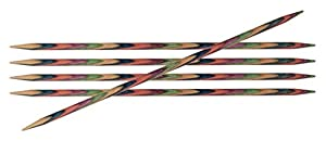 Knit Pro KP20110 Symfonie - Agujas de Tejer (Madera, 4,5 mm, 20 cm)
