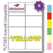 8-per-page-sheet-10-sheets-80-sticky-yellow-labels-label-planetr-blank-matt-quality-self-adhesive-a4