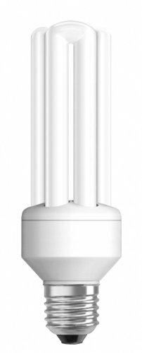 Osram 63526 Duluxstar 21 W/825, entspricht 90 Watt, Sockel E27 Energiesparlampen in Röhrenform, warmweiß -