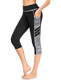 c5abc260e6fee SugarPocket Womens Athletic Pants Workout Yoga Leggings Fitness Tights
