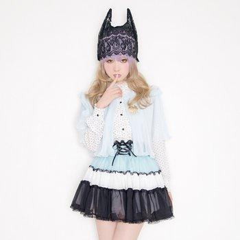 LLL secret party mask Gothic Black (japan import)