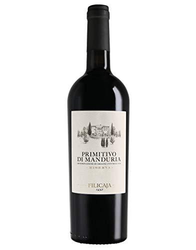 Primitivo di Manduria Riserva DOC Collezione del Conte Villa da Filicaja 2013 0,75 L