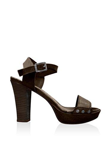 Sandales - 4502-fglw DK BROWN