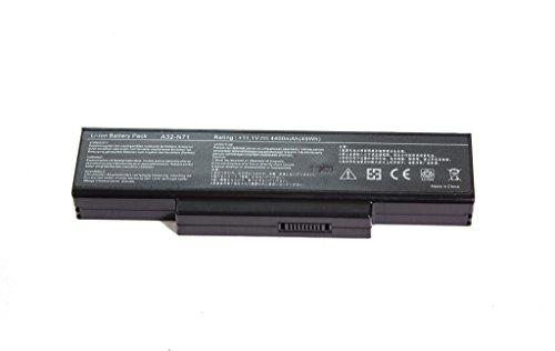 OEM Ersatzakku Notebookakku für Asus Notoebook Laptop Akku A32-K72 / A32-N71 für Asus A72 / A73 / K72 / K73 / N71 / N73 / Pro7A / Pro7B / Pro7C / Pro78 / X7A / X7B / X7C X72D / X73 / X77, 11,1v / 5200mAh Replacement Batterie