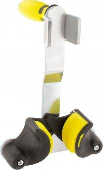 Triuso Plattenheber Universal 2K Griff Stahl verzinkt Klemmbacken Trockenbauheber Gipsplattenheber Heber für Gipskartoplatten