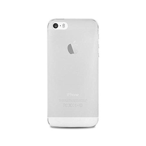 Puro IP5503TR Coque de protection utra fine gamme 0.3 + film de protection écran pour iPhone 5/5S/SE - Transparent