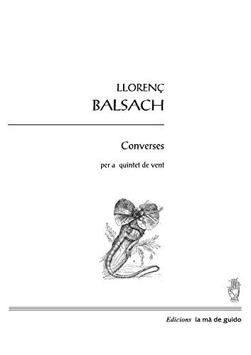 Converses: per a quintet de vent (Catalan Edition)