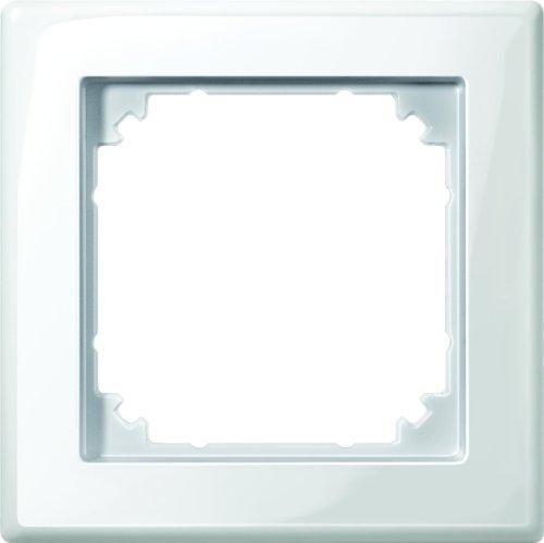 Merten 478119 M-SMART-Rahmen, 1fach, polarweiß glänzend, 1x, 1 Fach