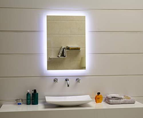 Badspiegel Tageslicht LED – 80 x 60 cm kaltweiß - 4