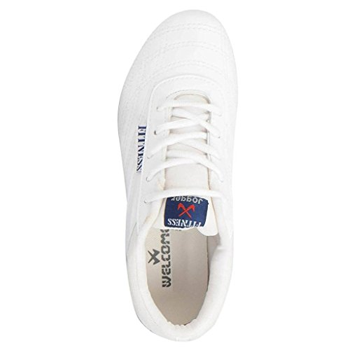 Deal-eSpecial-WelcomeWhite-Sport-Shoes-130-Light-Weight-Mesh-Running-jogging-shoes