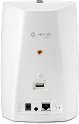 Denon HEOS 1 HS2 Kompakter Multiroom-Lautsprecher weiß - 4