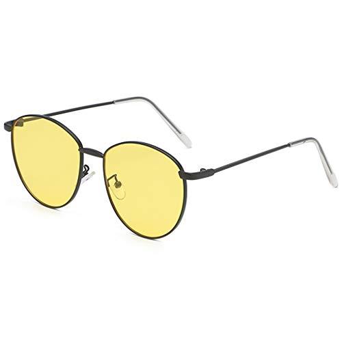 Harpily Mode UnregelmäßIge Metallic Sonnenbrillen,MäNner Und Frauen PersöNlichkeit Brillengestell Trendy Punk Wind Brillengestell Retro Brillen Frauen Form Sonnenbrille Brille Retro Style