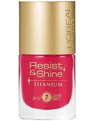 L'Oréal Paris Resist & Shine Titanium Nagellack, 504