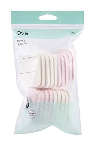 QVS Make-up-Schwämmchen, rechteckig, 20 Stück
