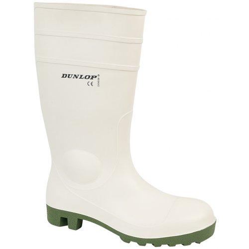 Dunlop FS1800/171BV - Stivali di Sicurezza in Gomma - Uomo Bianco