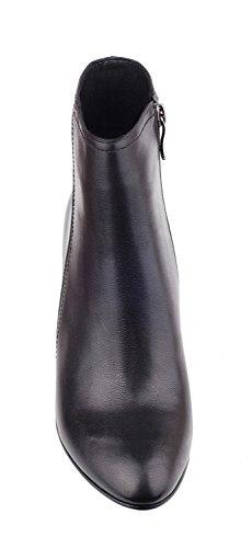 NIUERTE Wife, Montants Femme cuir noir