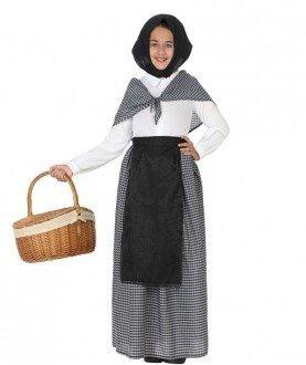 Atosa – Disfraz Vieja, Color Negro, 5 a 6 años (32137)