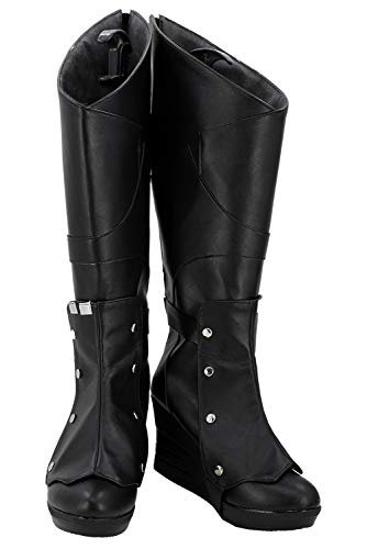 Tollstore Guardians of The Galaxy 2 Gamora Outfit Stiefel Cosplay Schuhe ()