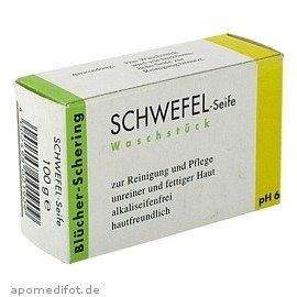 SCHWEFEL SEIFE Bluecher Schering, 100 g