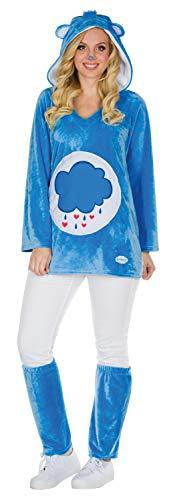 Damen Kostüm Größe M blau Karneval Bär Fasching ()