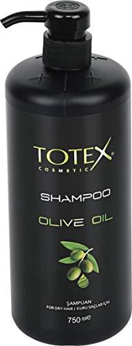 Totex Olivenöl Shampoo für trockenes Haar, 1er Pack (1 x 1 Stück)