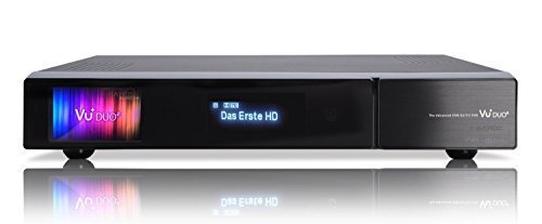 VU+ Duo² 2x DVB-C/T2 Dual Tuner 4 TB HDD Twin Linux Receiver Full HD 1080p
