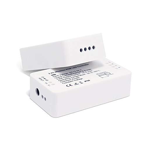 12/24V ZigBee RGB + Warmweiß + Kaltweiß MULTI LED Controller Multi LED Vorschaltgerät Steuergerät geeignet zb. für Philips HUE, Amazon Echo Plus, Osram Lightify, IKEA Tradfri, Homee, Smart Friends.