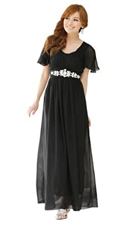 JK2 - Chiffon Robe de soirée 9502 noir M