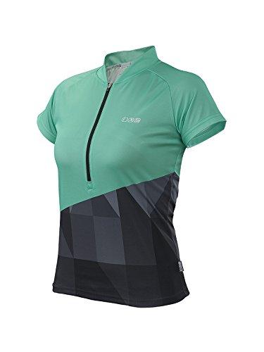 IXS Damen Jersey Sablun green/Black, 38