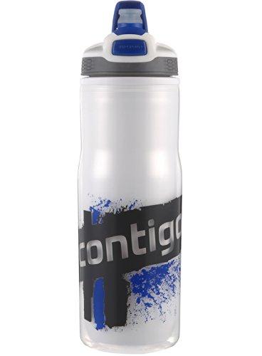 Contigo 22Oz Devon Autospout doppelwandig Wasser Flasche, plastik, blau, 22 oz (Gym Bag Yankee)