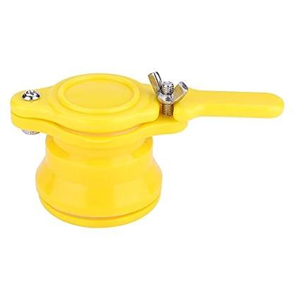 Zerodis Bee Honey Gate Valve Honey Extractor Bucket Tap Beekeeping Bottling Tool, Nylon+Stainless Steel 1