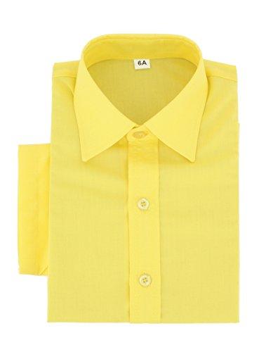 Boutique-magique - camicia - ragazzo giallo 14 anni