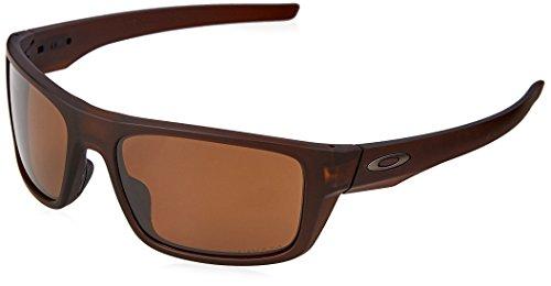 OAKLEY Herren Sonnenbrille Drop Point 936707, Braun (Matte Rootbeer/Prizmtungstenpolarized), 61