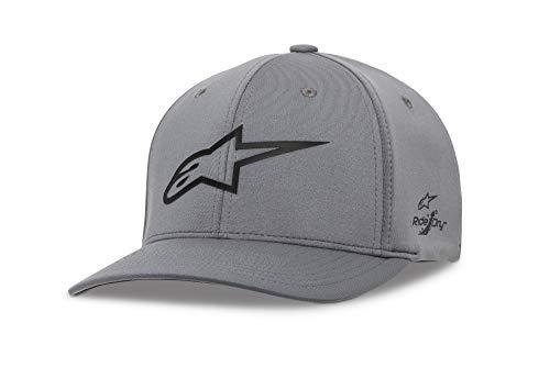 Alpinestars Herren Ageless Sonic tech Hat, Charcoal/Black, L - Spandex Hat