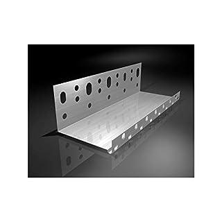 Aluminium Starting Profile for Coat Various Sizes - 10 cm