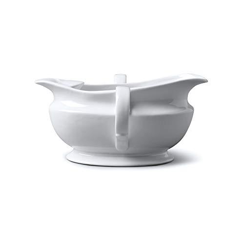 WM Bartleet & Sons 1750 T307 - Separador de grasa para salsa (porcelana, 500 ml), color blanco