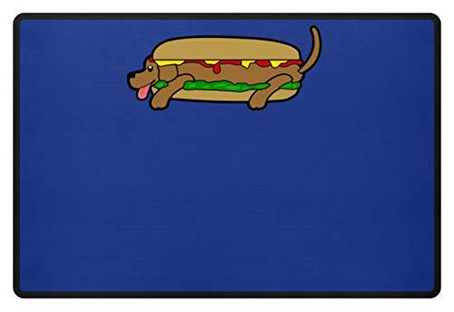 Hot Dog In Tutti I Sensi - Zerbino -60x40cm-reale