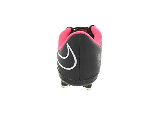 Nike Jr Hypervenom Phelon Fg nero / nero / iper Punch / bianco Calcio Bitta 2 Us (nero/rosso)
