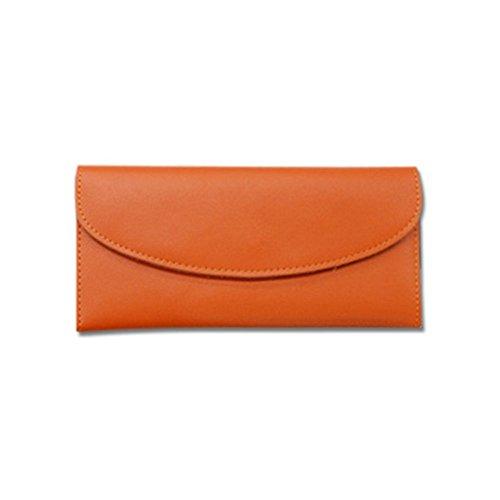 Eysee, Poschette giorno donna giallo Brown 19cm*11cm*2cm. Orange