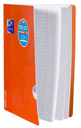 Oxford 400095631 Schulheft OpenFlex 10er Pack A4 32 Blatt Lineatur 25 - liniert mit weißem Rand koralle & aqua - 4