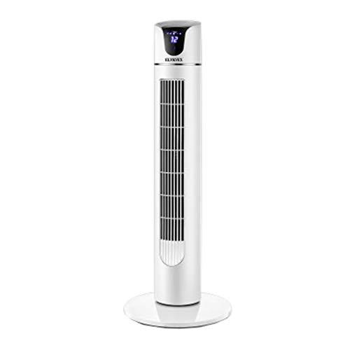 Preisvergleich Produktbild FFF-VENTILATOR Elektrolüfter Turmventilatoren Kühlung mit Fernbedienung 50 Watt für Büro und Schlafzimmer Weiß Schütteln Den Kopf