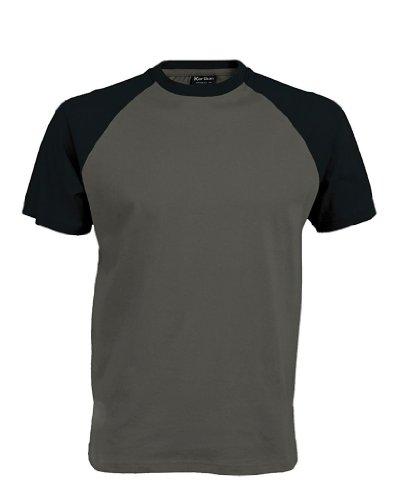 Baseball T-Shirt Slate Grey/Black