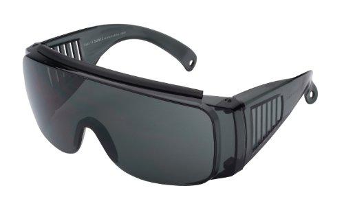 Sport Sonnenbrille Sportbrille zum Überziehen, schwarz, No. 7004-3