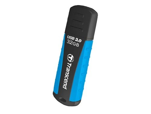 Transcend TS32GJF810 JetFlash USB 3.0 32GB Speicherstick schwarz/blau