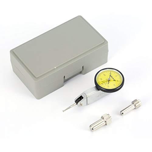 Redstrong 0-0.8mm Präzisions-Messuhr Indikator Füllstandsanzeige Skala Metrische Schwalbenschwanz-Schienen Hohe Genauigkeit ausgewogene Zifferblätter für die Bearbeitung