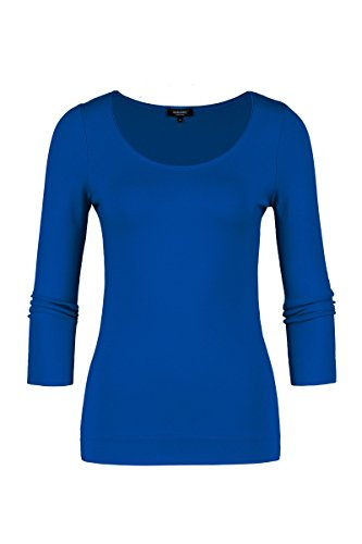 Claudia Sträter Damen Jersey-Top Blau