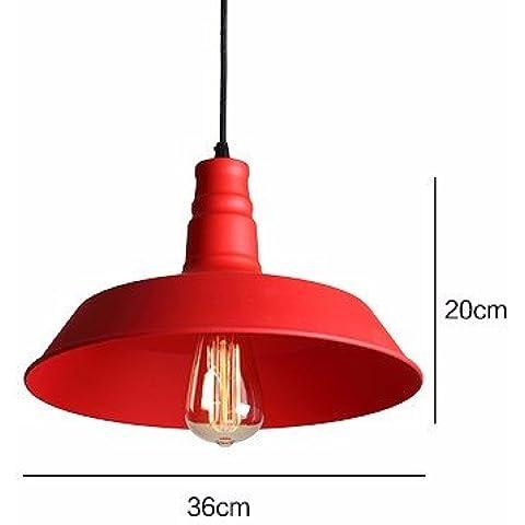 Gran ola designVintage lámpara de araña de hierro