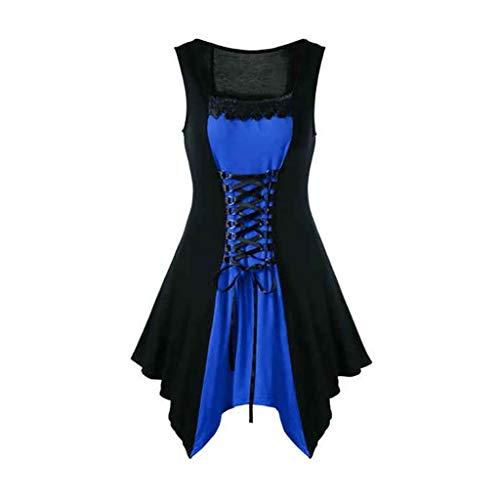 iYmitz 1920s Heißer Party Frauen Sommerkleid Ärmelloses Bandage Vintage Kausal Retro CocktailShort Mini Abendkleid Für ()