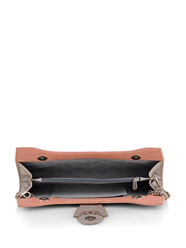 Butterflies Women's Handbag (Peach) (BNS WB0163)